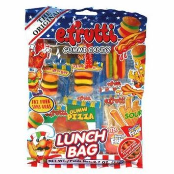 Lunch Bag Gummies Peg Bag: 12Count (Pack of 20)