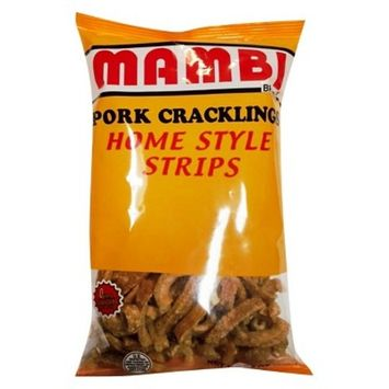 Mambi Pork Cracklings Home Style Strips 9.5 oz