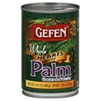 Gefen Cultivated Hearts Of Whole Palm kFP 14.1 Oz. Pack Of 6.