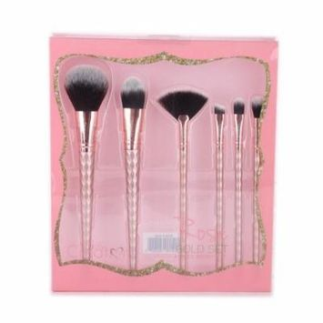 BEAUTY CREATIONS Rose Gold 6 Piece Brush Set