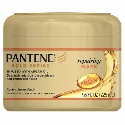 4 Pack Pantene Gold Series Mask Repairing 7.6 Ounce Jar each