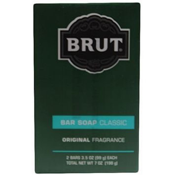 Brut Bar Soap Classic, Original Fragrance, 3.5 Ounce, 2 Count (Pack of 6)