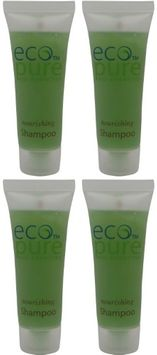 Eco Pure Nourishing Shampoo Lot of 4 each 1oz Bottles. oz (Pack of 4)