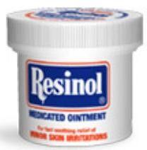 Resinol Itch Relief 55% / 2% Strength Ointment 1.25 oz. Jar