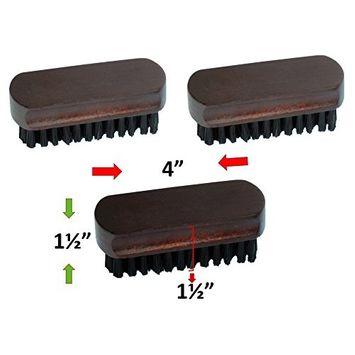 Smartek Original Wood Clothes Lint Pet Hair Remover Brush - 3 Pack