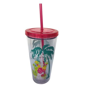 Essential Home 22 Oz. Hydration Tumbler With Straw – Island Time