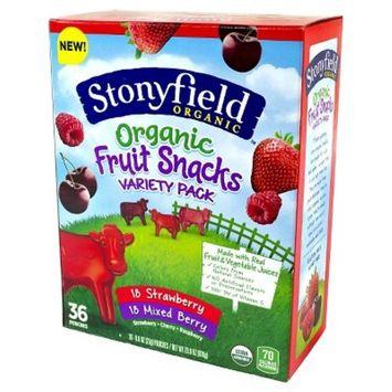 Stonyfield Organic Variety Pack Fruit Snacks - 3.9oz/36ct