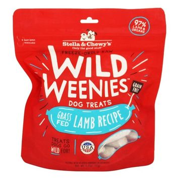 Stella & Chewy's Lamb Wild Weenies Freeze-Dried Raw Dog Treats