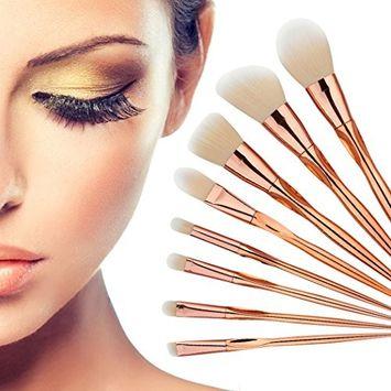 Eshion Professional 8pcs Makeup Brushes Cosmetic Powder Blush Contour Foundation Eyeshadow Make-up Brush Set
