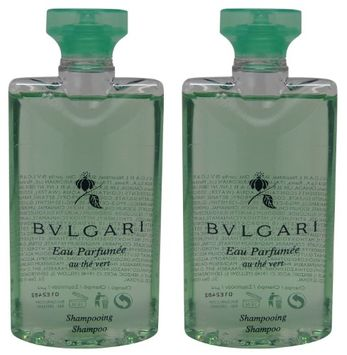 Bvlgari au the vert Green Tea Shampoo lot of 2.5oz Total of 5oz (Pack of 2)