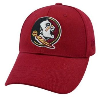 Adult Top of the World Florida State Seminoles Premium Collection One-Fit Cap