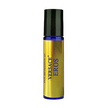 Perfume Studio IMPRESSION (Eros Oil) SIMILAR toVersace_Eros for Men - 100% Pure Undiluted, No Alcohol Premium Parfum Oil (Eros Oil VERSION/TYPE; Not Original Brand)