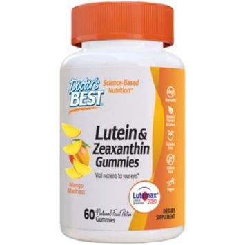 Lutein & Zeaxanthin Gummies - MANGO MADNESS (60 Gummies) by Doctors Best