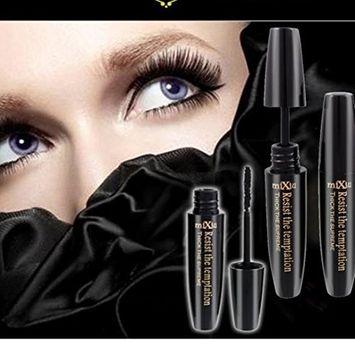 Hunputa Mascara, Voluminous Lash Washable Mascara, Blackest Black