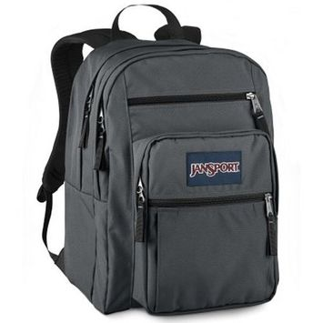 JanSport Big Student Classics Series Backpack, Forge Grey
