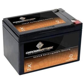 12V 14.1AH Sealed Lead Acid (SLA) Battery - T2 Terminals - for ZB-12-14.1