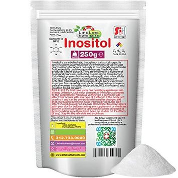 250g, 100% Pure Inositol, Powder - Free Shipping