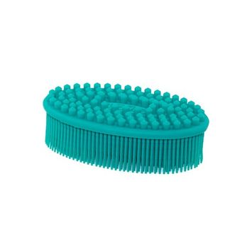 Silicone Bath & Shower Body Brush - BETTER THAN A LOOFAH OR WASHCLOTH - Gently deep clean and reduce cellulite! GET GLOWY, SOFT SKIN!