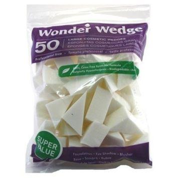 Wonder Wedge 50 Count Cosmetic Wedge Large