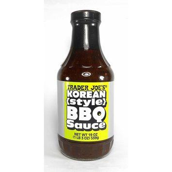 Trader Joe's Korean Style BBQ Sauce 19 Oz.