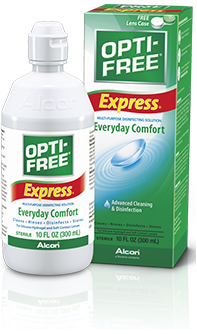 OPTI-FREE® Express® Multi-Purpose Contact Lens Solution