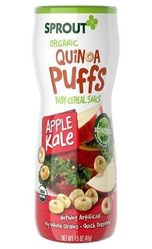 Sprout Organic Apple Kale Quinoa Puffs