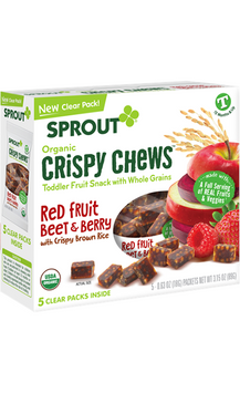 Sprout Organic Red Fruit Beet & Berry Crispy Chews