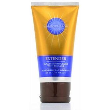 California Tan Extender Sunless Moisturizer with Bronzer 2.5 oz