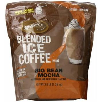 Jet Blended Ice Coffee, Big Bean Mocha, 3 Pound