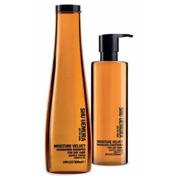 Shu Uemura Moisture Velvet Nourishing Shampoo and Conditioner Value Set