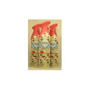Febreze Air Effects Limited Edition Room Spray, Strawberry Fig 9.7 Oz (3 Pack)