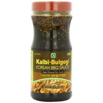 J1 Korean BBQ Sauce, Kalbi and Bulgogi, 33.86 Ounce