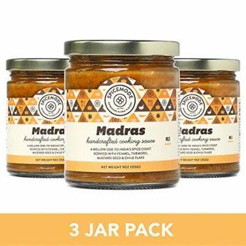 Spicemode Madras Cooking Sauce (Hot) : 3 Jars