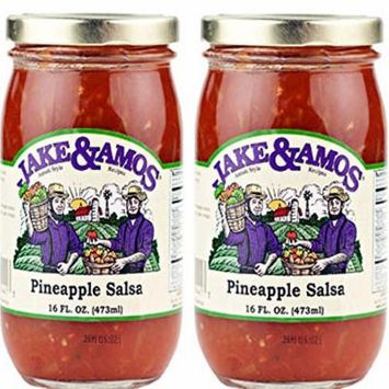 Jake & Amos Pineapple Salsa / 2 - 16 Oz. Jars