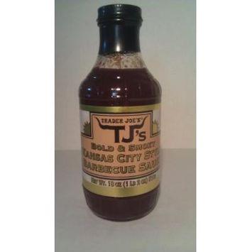 Trader Joe's TJ's Bold & Smoky Kansas City Style Barbecue Sauce