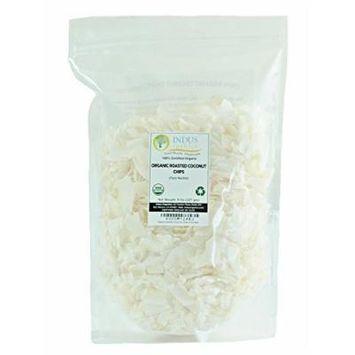 Indus Organic Coconut Roasted Chips/shreds 8 Oz Bag (1x3), Freshly Packed, No Added Sugar/salt...