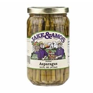Jake & Amos Pickled Asparagus, 16 Oz. Jar