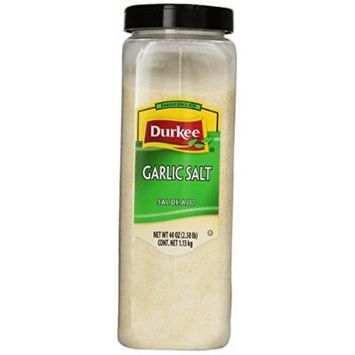 Durkee Garlic Salt, 40-Ounce Containers (Pack of 2)