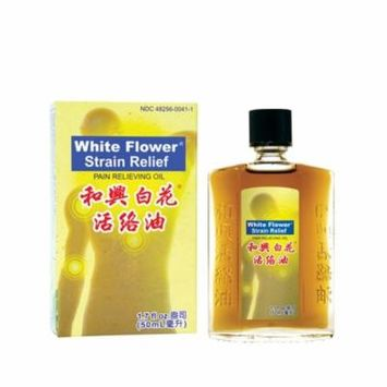 White Flower Strain Relief Pain Relieving Oil