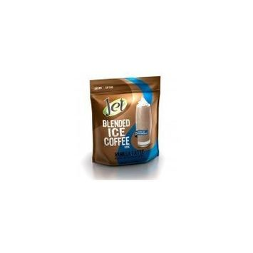 Jet Vanilla Latte Blended Ice Coffee (1-3-Pound Bag Of Blended Ice Coffee Mix) Frappes