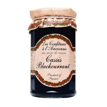 Black Currant (Cassis) Jam Andresy All natural French jam pure sugar cane 9.52 oz jar Confitures a l'Ancienne, One