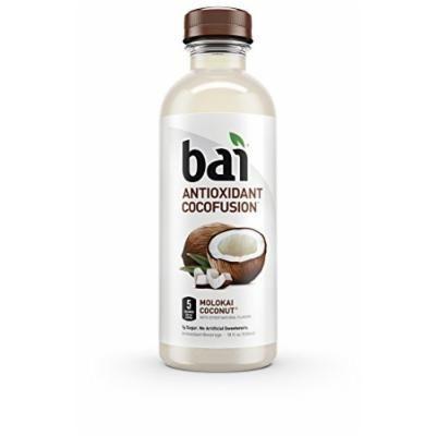 Bai Molokai Coconut, Antioxidant Infused Beverage, 18 Ounce (Pack of 12)