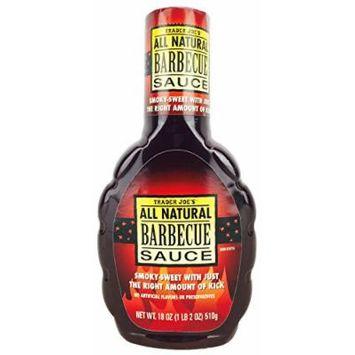 Trader Joe's All Natural Barbeque Sauce 18oz