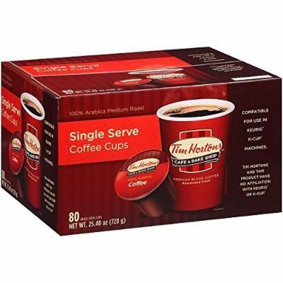 Tim Horton's Single Serve Coffee Cups, Premium Roast, 80 ...
