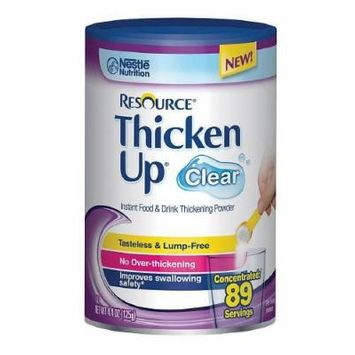 Resource ThickenUp, 89 Servings, Clear 4.4 oz