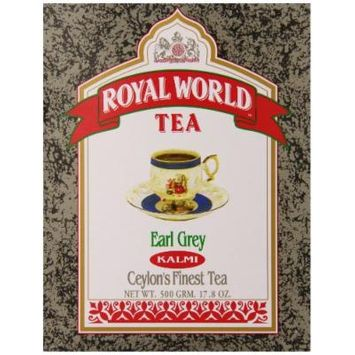 Royal World Kalmi Earl Grey Tea, 17.6 Ounce