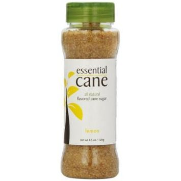 Essential Cane Lemon Flavored Cane Sugar, 4.5-Ounce Jars (Pack of 3)