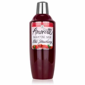 Amoretti Cocktail Mix, Wild Strawberry, 28 Ounce (Pack of 12)