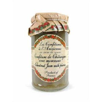 Chestnut Jam (Crème de Marrons) Andresy All natural French jam pure sugar cane 9 oz jar Confitures a l'Ancienne, One