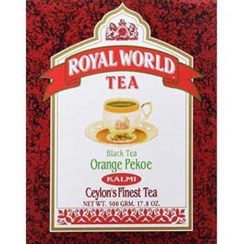 Royal World Orange Pekoe Kalmi Black Tea, 500 Gram